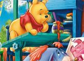 Игра Винни Пух - мозаика-пазл
