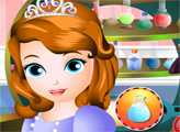 Игра Принцесса София и любовное зелье Седрика
