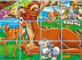 Игра Бэмби - плитки мозайки