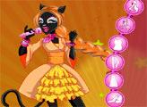 Игра Монстер Хай: Кошка-оборотень Кэтти Нуар