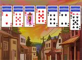 Игра Пасьянс - Дикий Запад Клондайк