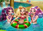 Игра Эвер Афтер вечеринка в бассейне