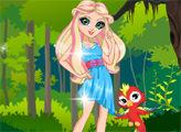 Игра Кукла Ева - защитница неба