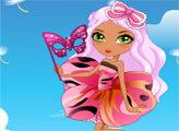 Игра Чайная Вечеринка в саду - Слоан как Бабочка