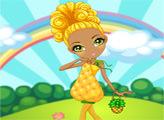 Игра Ла Дии Да: Фруктовый коктейль - Слоан: Солнечный ананас