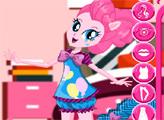 Игра Радужный рок: Пижамная вечеринка Пинки Пай