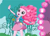 Игра Девочки из Эквестрии - Пинки Пай в саду