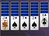 Игра Пасьянс Паук - одна масть
