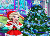 Игра Эльза: Рождественский декор