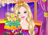 Игра Барби и гламурный кекс