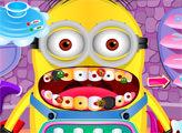 Игра Миньон у стоматолога