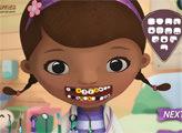 Игра Доктор Плюшева у стоматолога
