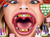 Игра Ханна Монтана у стоматолога