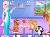 Игра Ветеринарная клиника Эльзы