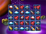 Игра Космический Маджонг