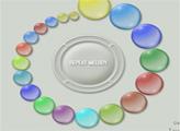 Игра Дотронься до пузырька 2
