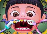 Игра Агнес у стоматолога