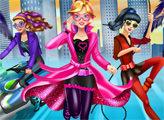 Игра Шпионский отряд Барби наряжается