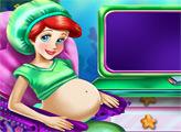 Игра Беременная Ариэль у врача