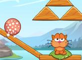 Игра Путешествие кота вокруг света - Горные озера