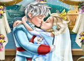 Игра Свадебный поцелуй Эльзы