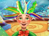 Игра Прическа Рождественского Эльфа