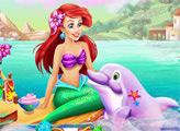 Игра Ариэль и дельфин