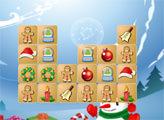 Игра Маджонг - Новогоднии подарки