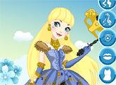 Игра День Коронации: Блонди Локс и ее наряд