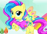 Игра Мой маленький Пони - Радужный стиль Флаттершай