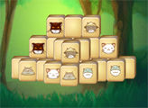 Игра Маджонг - Веселые Котята