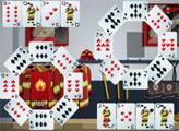 Игра Пасьянс - Пожарники