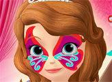 Игра София - рисуем на лице