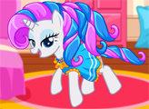 Игра Мой маленький Пони - Одевалка Рарити
