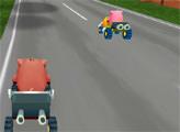 Игра Сумасшедший картинг 3Д