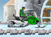 Игра Фристайл на Снегоходах