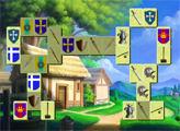Игра Маджонг - Короли и рыцари