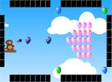 Игра Обезьянки Блунс: Воздушный дартс 2