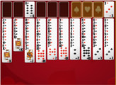Игра Пасьянс - Двойная Свободная Ячейка