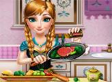 Игра Анна готовит на кухне