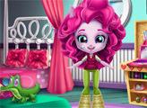 Игра Пинки Пай: Уборка в комнате