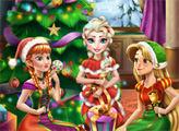 Игра Диснеевская Рождественская вечеринка