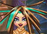Игра Новая прическа для Клео де Нил