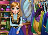 Игра Гламурный гардероб Анны