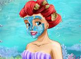 Игра Стильный макияж для Ариэль