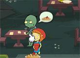 Игра Ресторан для Зомби