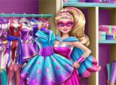 Игра Модный гардероб Супер Барби