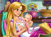 Игра Новорожденный малыш Рапунцель