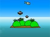 Игра Голодная рыба