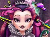 Игра Эвер Афтер Хай: Прическа для Рейвен Квин